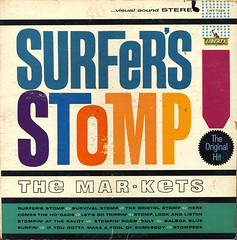 Marketts - Surfer's Stomp! (Benjamin D. Hammond) Tags: surf vinyl lp record instrumental joesaraceno marketts surfersstomp