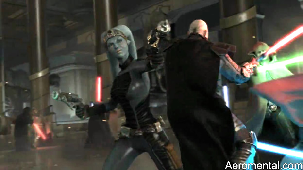 Star Wars Old Republic Jedi azul
