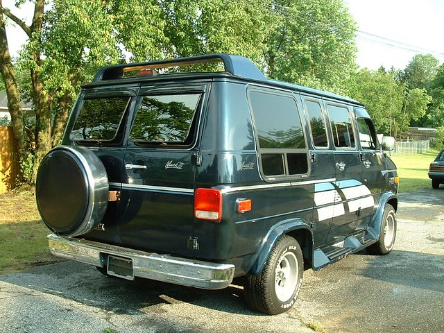 old conversion style 1993 chevy van custom