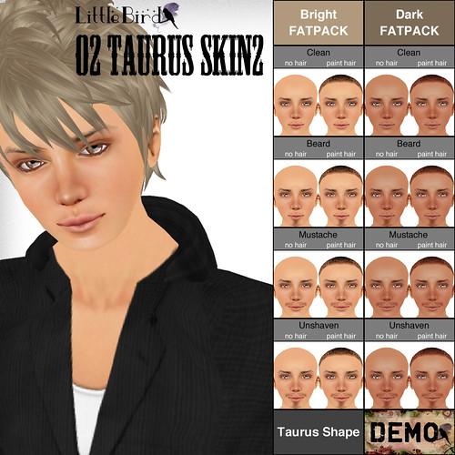 taurus skin sample pop