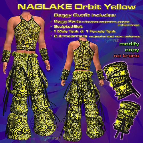 NAGLAKE Orbit Yellow