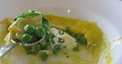 One Market - Open Faced Peas Ravioli