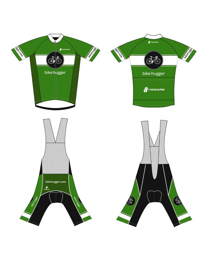 Bike Hugger Neo Retro Jersey & Shorts