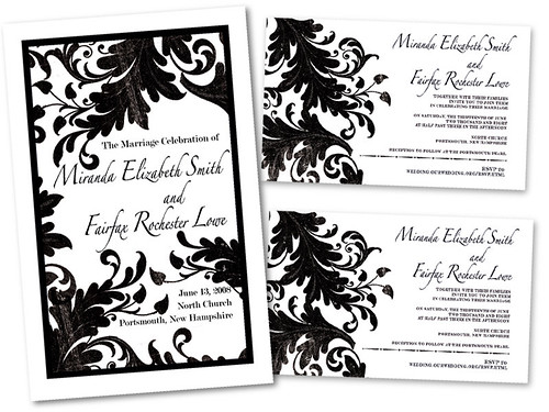 Wedding Program & Invitations