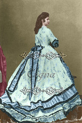 Blue gown 1866