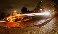 Switchback (4PIZON) Tags: sf sanfrancisco longexposure color night canon lights bricks 8 lighttrails 1922 crooked lombard switchback lombardstreet keepers explored top20longexposure 4pizon crookedestst 8curves jan2035 jun202009100