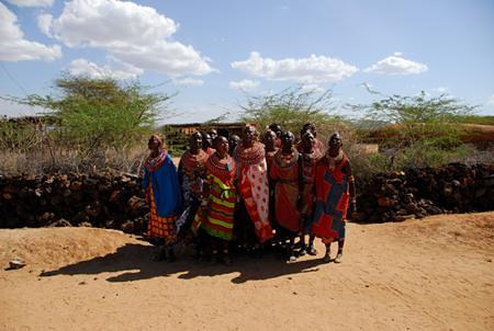 Umoja women welcome song