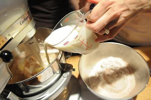Adding Buttermilk