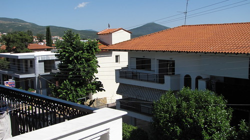 View outside the house in Panorma