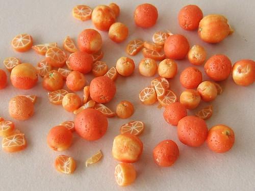 Baked oranges