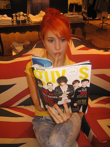 hayley williams hot photos. and singer Hayley Williams