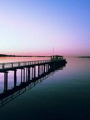 Am Hindenburgufer (PhotoJee) Tags: sunset sun lumix sonnenuntergang panasonic ostsee kiel hindenburgufer dmcfz18