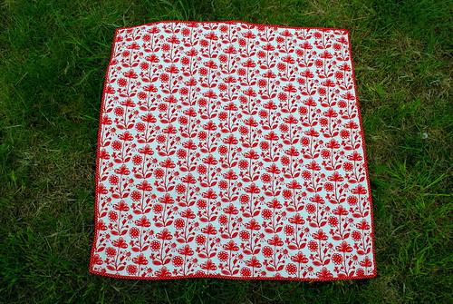 redwork quilt back