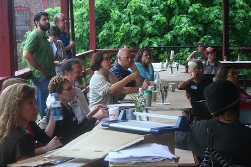 Another view of the participants at the growBot Symposium