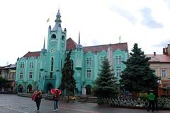 Mukachevo city hall (nickandrosemary) Tags: ukraine mukachevo oblast ukrajna munkcs krptalja zakarpattia