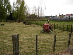 Old Tractor and Plough (KiwiPatPhooey) Tags: tractor nikon farm friday hff d90 eketahuna