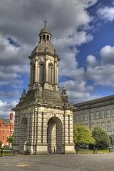 Trinity College Campanile - Tonemapped