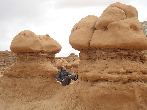 Ian in Goblin Valley