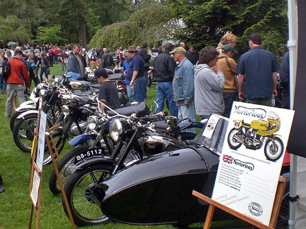 Vintage Motorcycles at Van Dusen