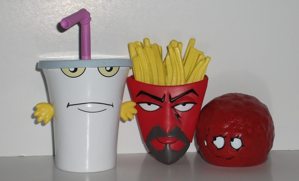 Aqua Teen Hunger Force Figures eBay