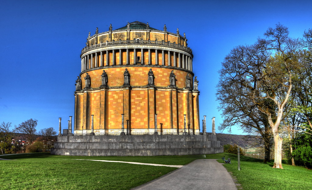 the liberation Hall in Kehlheim Bavaria HDR