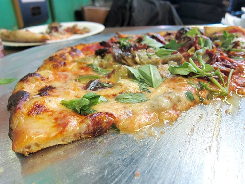 Thin Di Fara pizza