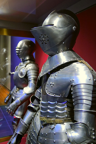 Saint Louis Art Museum, in Saint Louis, Missouri, USA - suits of armor