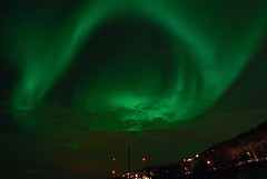 Wild aurora north of Troms City (Per Ivar Somby) Tags: 2008 northernlights auroraborealis troms nordlys kvalya northernlight  visipix nordspissen