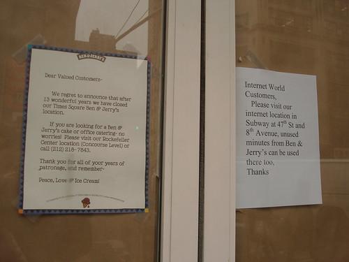 Ben & Jerry's Letter