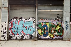 Ket and Sento, 2008 (KET ONE) Tags: newyorkcity graffiti sento ket alanket