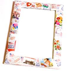 Stamps frame