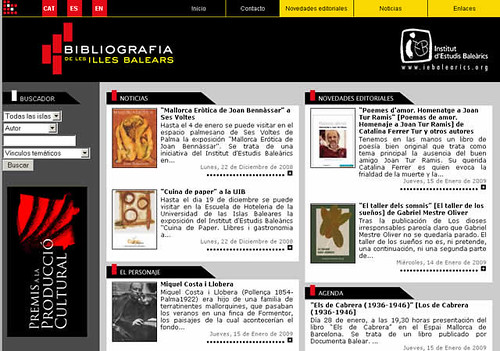 Bibliografía de las Islas Baleares