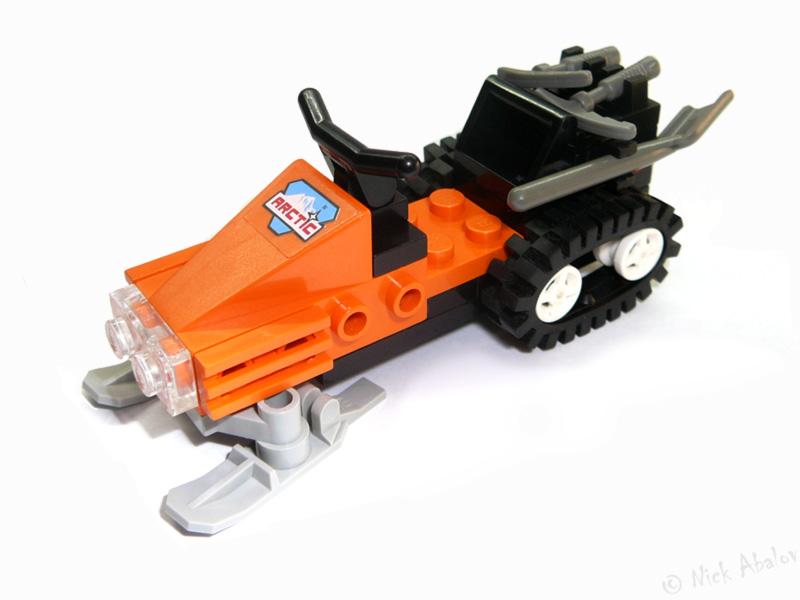 Лего как сделать снегоход