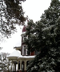 Snowy Day (elycefeliz) Tags: winter ohio house snow cold victorian january2009