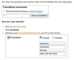 Friendfeed Comments To Disqus (jjprojects) Tags: comments friendfeed disqus
