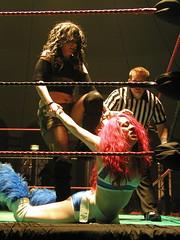 CSF Wrestling - Faith Lehaine vs Skarlett Venom