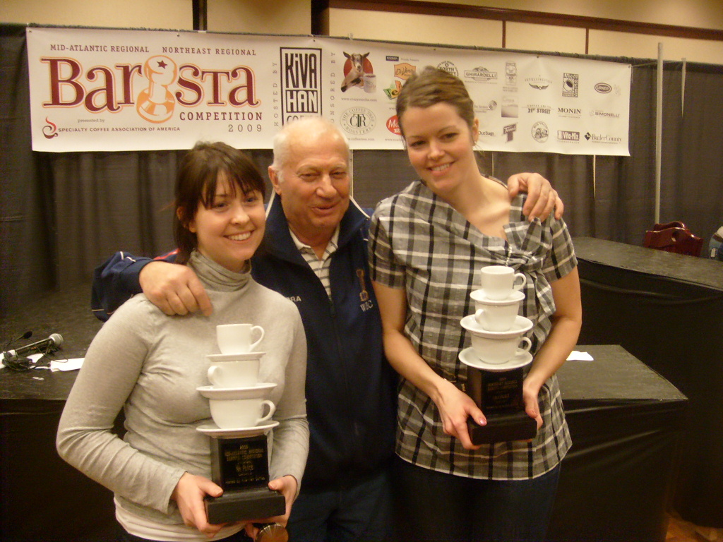 Katie Duris, Gianni of Nuova Simonelli, Amber Sather