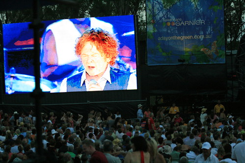 Mick Hucknall,Day on the Green, Simply Red Concert