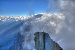 Above Clouds (IceCatSeoul) Tags: summer snow france mountains alps europe alpine savoie 2008 chamonix savoy