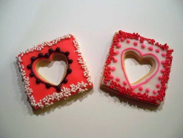 Valentine Day's cookies