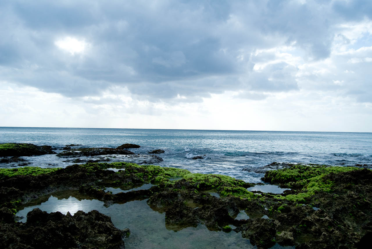 白沙灣附近的沿岸