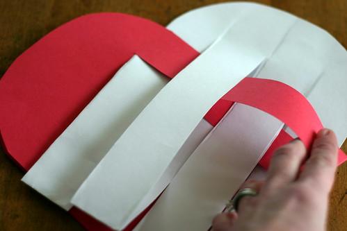 Woven Paper Valentine Hearts - 7