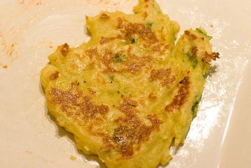 Baked Scallop Pancake