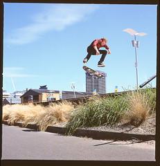 joseph sw heel (Tim_Stephens) Tags: france joseph switch ebay skateboarding 04 c skating gap 11 cm hasselblad f sw docklands vans heel 500 pt zero slaves gravel flashes 80mm heelflip biais frechy