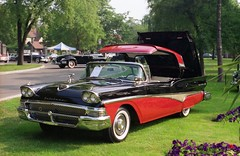 1958 Ford Fairlane 500 Skyliner hardtop convertible (carphoto) Tags: ford 1958 skyliner hardtopconvertible 1958fordfairlane500skyliner willisteadconcours1994 richardspiegelmancarphoto