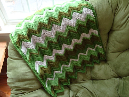 Irish Green Blanket 03