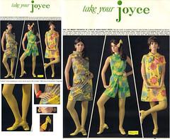Colleen Corby 1968 JoyceAd (Matthew Sutton (shooby32)) Tags: magazine model mod colleen 1960s corby seventeen