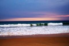 Kovalam Beach Sunset, Kerala (Digital.One) Tags: sunset sea sky india clouds landscape kerala