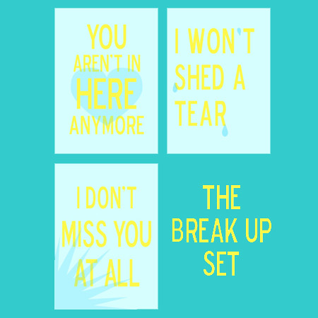 Break Up Set