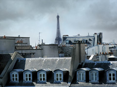 eifel (soy marmatt) Tags: windows paris france tower europa europe torre eifel roofs ventanas chimeneas francia eifeltower pars tejas techos torreeifel